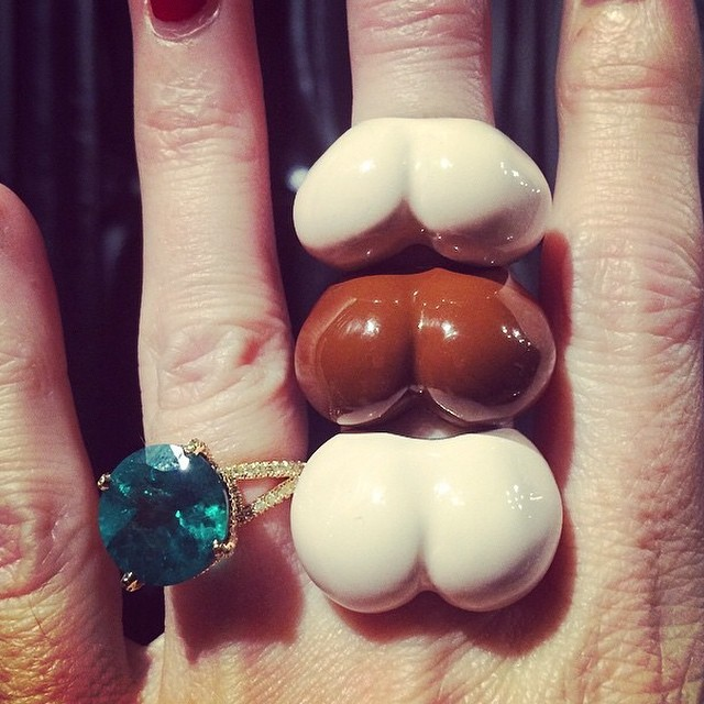 Don't you think these rings are very faSshionable?