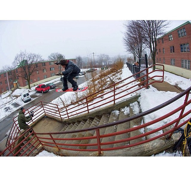 If @brendonjrego did not haul ass into this it could have been disasStrous! 📷: @hugruber