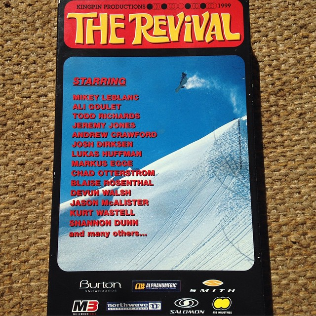 TBT to 1999 which was probably the approximate price paid for this 16mm flick by Whitey. Sponsored by Ass Industries its a true gaSs to watch on VHS. #kingpinproductions #therevival